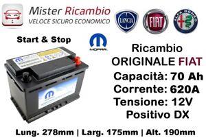 71779500-Batteria-ORIGINALE-Fiat-MOPAR-70Ah-620EAN-Start-amp-Stop
