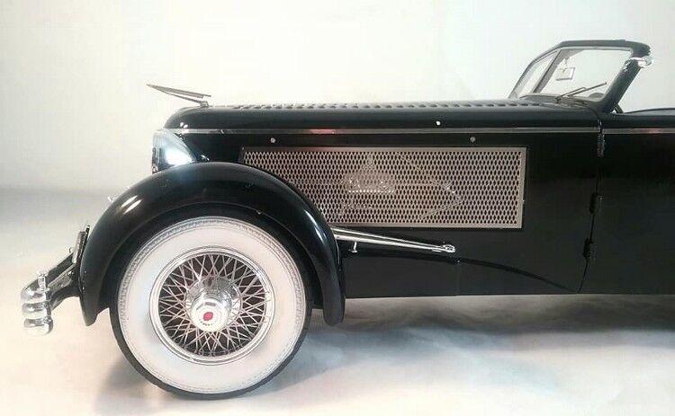 1937 Duesenberg SJ Top Half Open by Esval Models