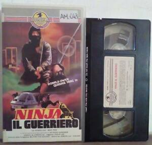 VHS-FILM-Ita-Azione-NINJA-Il-Guerriero-eureka-video-01487-ex-nolo-no-dvd-V27