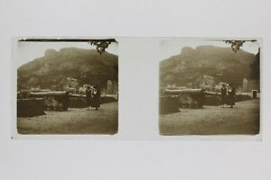 Snapshot Monaco Placca Da Lente Stereo Positivo Vintage PL33L4P-6