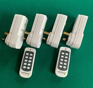 ENERGENIE mihome 4 Smart zócalos. 2 mandos a distancia y...