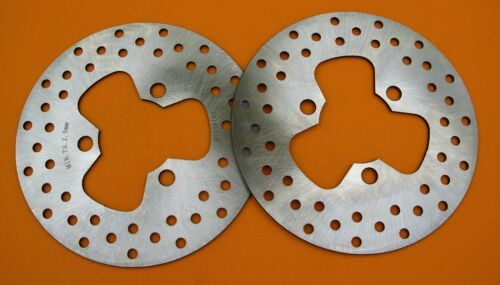 2PCS Front Brake Disc Rotor For HONDA TRX 300 400EX Sportrax 01-07 TRX 450 700