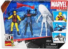MARVEL UNIVERSE__DAREDEVIL_Stealth Operations IRON MAN_SILVER SURFER figures_MIB