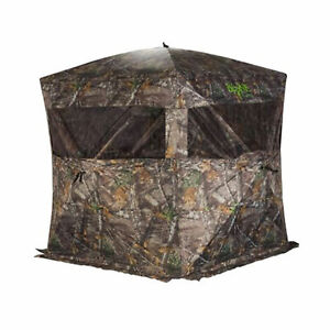 Rhino Blinds R150-BC-RTE Bone Collector RealTree Edge 3 Person Hunting Blind
