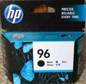 HP #96 C8767WN Black Ink Cartridge Genuine New