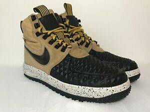 69eff0a4 nike air force one lf1 duckboot 17 gold light bone