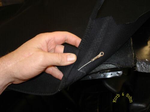 le fasi intermedie NUOVO! MERCEDES DB w124 Cabrio copertura istruzioni di installazione EBA incl