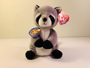 TY RICKY the RACOON -  2.0 BEANIE BABY - ORIGINAL TAGS - UNUSED CODE - 2009