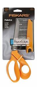 Fiskars-RazorEdge-9-034-Fabric-Shears-Ultra-Sharp-Razor-Edge-Scissor-Blades-8190