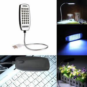 Details About Mini Flexible Bright 28 Led Usb Light For Computer Lamp Laptop Pc Desk Reading