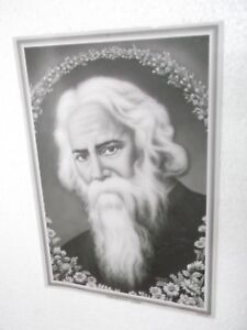 RABINDRANATH-TAGORE-Poster-unique-nice-INDIA-famous-personality-16-034-11-034