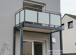 3 X 2 M Balkon Anbaubalkon Vorstellbalkon Pulverbeschichtet