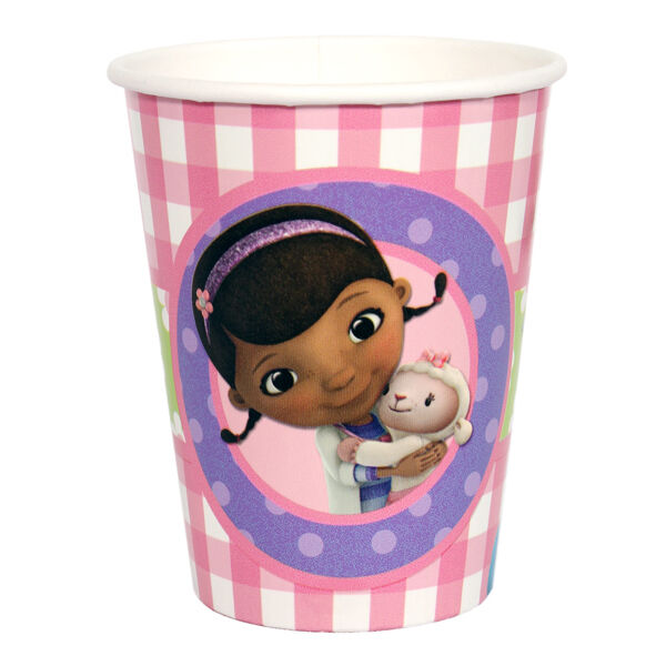 Doc McStuffins Birthday Party Supplies Cups