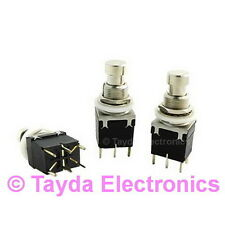 2 x 2PDT DPDT Momentary Stomp Foot / Pedal Push Button Switch PCB FREE SHIPPING