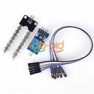 Soil Hygrometer Humidity Detection Module Moisture Sensor For Arduino Perfect