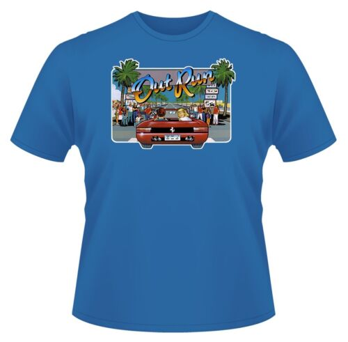Mens Retro Game T-Shirt Ideal Gift or Birthday Present. Out Run