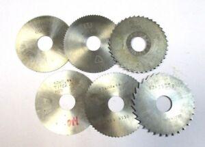 6x-Metal-Lame-de-Scie-Circulaire-HSS-Ss-3x-60-3x-63-Divers-Epaisseurs-U