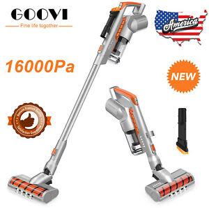 ONSON Cordless Handheld Stick Vacuum Cleaner Carpet Floor Clean 16000pa Suction