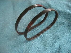 2-NEW-DRIVE-BELTS-MADE-IN-USA-FOR-SEARS-CRAFTSMAN-BAND-SAW-MODEL-119214000