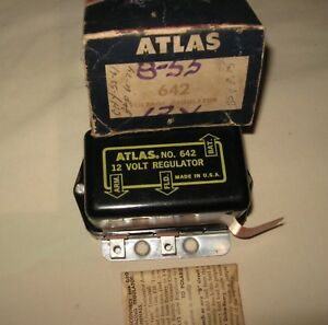 New-Voltage-Regulator-to-fit-1955-1960-Chrysler-DeSoto-Dodge-Plymouth-Willys