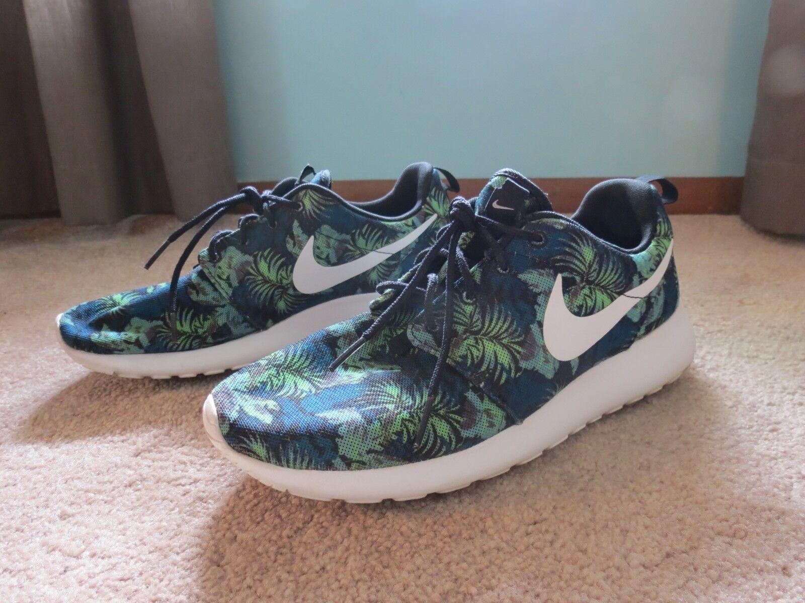 Nike Roshe Run Poison Green Palm Trees