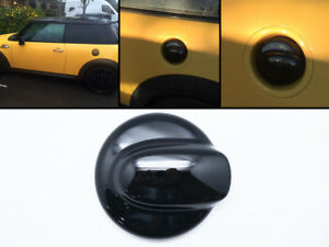 Black-Fuel-Gas-Oil-Tank-Cap-Cover-Fits-07-13-Mini-Cooper-R55-R56-R57-R58-R59-R60