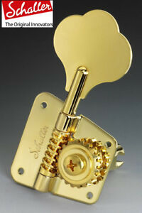 Details about NEW Schaller tuners Machine head for BASS 3L2R Original  F-series BMF Gold