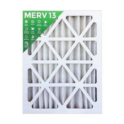 4 PACK 14x25x2 MERV 8 AC Furnace 2 Inch Air Filter