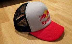 Image is loading Red-Bull-Hat-Snapback-Trucker-Hat-Cap 5a15032c9ab