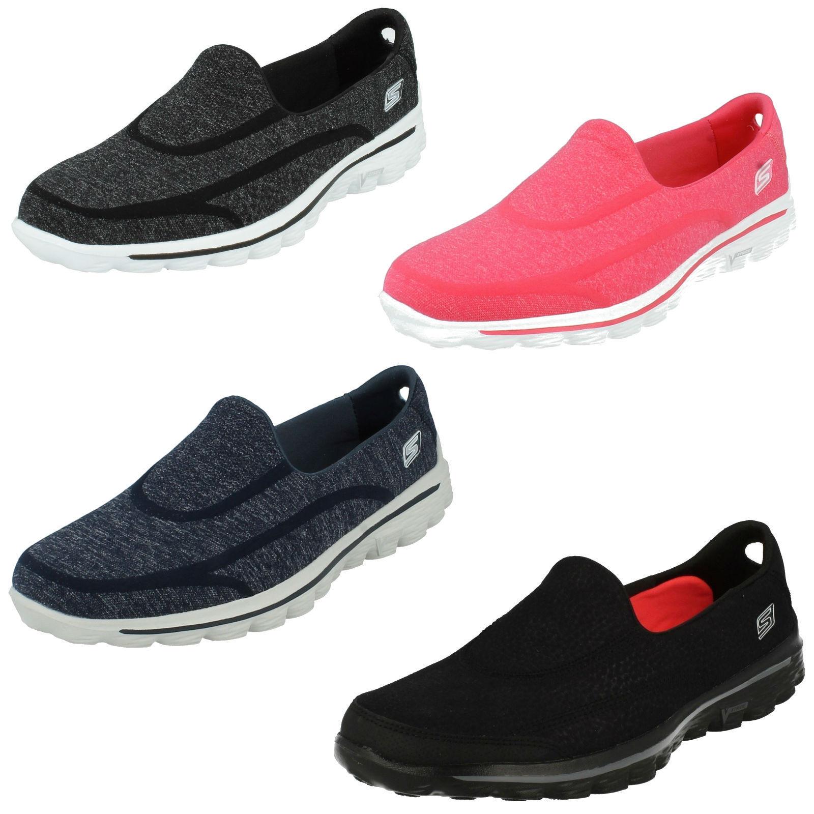 opciones a bajo precio Skechers Mujer Go Walk 2 Super Sock Caminar Caminar Caminar Zapatillas para Correr Deportivas  echa un vistazo a los más baratos
