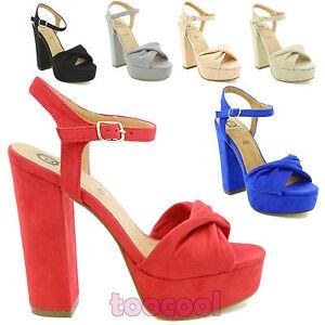 Scarpe-donna-sandali-camoscio-sintetico-tacchi-alti-Queen-Helena-nuove-ZM25193
