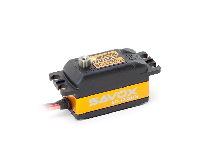 SAVÖX sc-1252mg a basso profilo Digital Servo   sc-1252mg  elementi di novità