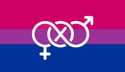 Ehrgeizig Bi-pride Flagge , Bügelbild Markenqualität Waschbar Bis95°c 5x10cm Erfrischung