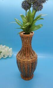 Garden-Path-Design-Wicker-Vase-8-5-034-Tall