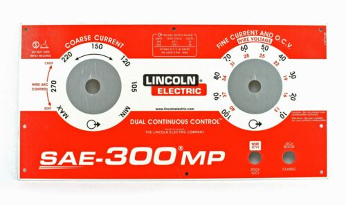 Details about  /Lincoln SAE-300 MP Upper Faceplate BW3263