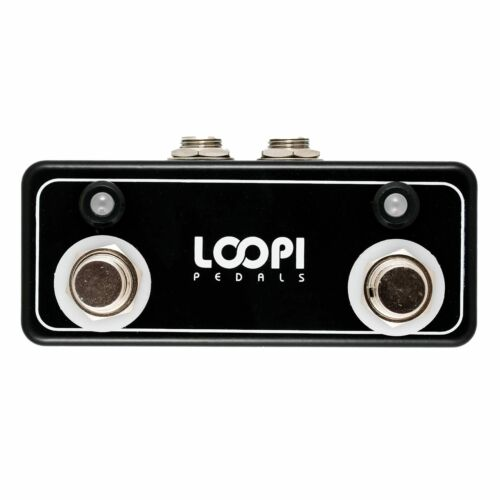 Dual Single Amp Channel Footswitches - Loopi Pedals