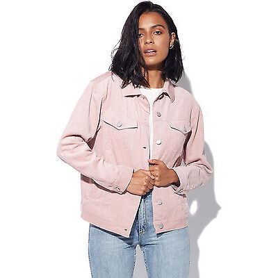New Unbranded Womens LUCK & TROUBLE Molly Jacket Pink