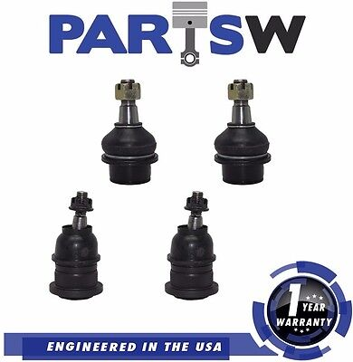 4 Pc Front Suspension Kit Upper and Lower Ball Joints for Chevy Tahoe GMC Yukon