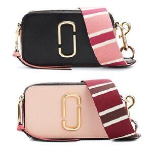 Details About Marc Jacobs Snapshot Small Camera Bag Women Crossbody Shoulder Strap Handbag Nwt