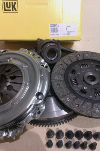 FORD GALAXY 1.9 TDI 2003 ASZ FLYWHEEL AND CLUTCH KIT WITH SLAVE BEARING & BOLTS
