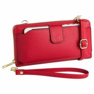 Wristlet Wallet With Cell Phone Holder Crossbody Phone Bag Women Wallet Purse Ebay
