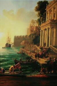 Image Is Loading 3D Renaissance Oil Painting Wallpaper Decal Decor Home