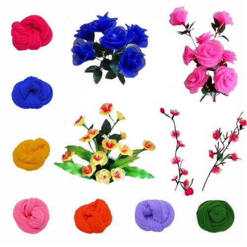 5Pcs 2.3M Nylon Stocking For Making Artificial Mesh Flower Arrangement Stamens