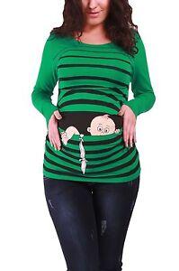 Lustige Umstandsmode T Shirt Sweatshirt Schwangerschaft Baby