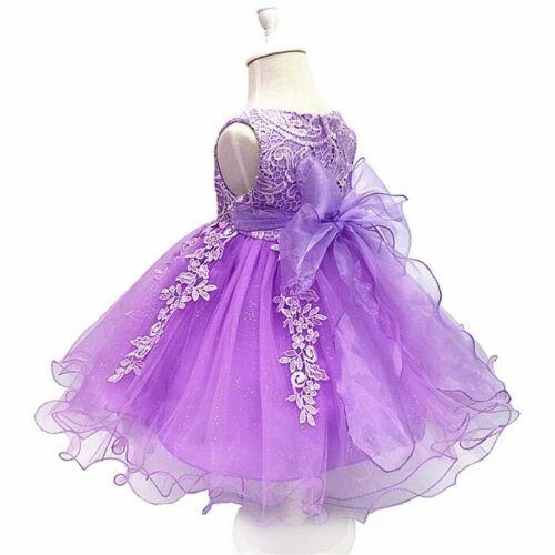 Flower Girl Dresses Formal Tutu Princess Dress Bridesmaid Wedding Party Gowns