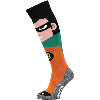 Barts Zoo Ski Boys Underwear Snow Socks Green All Sizes