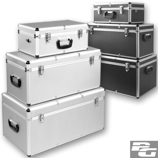 Alu Boxen 26/67/100Liter Alukoffer Alukiste Transportbox Werkzeugkiste Lagerbox