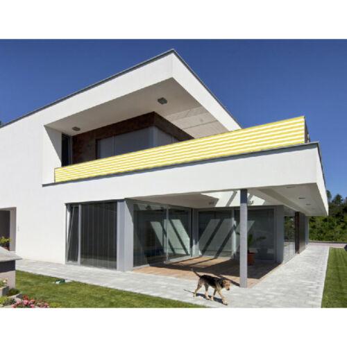 Balkonsichtschutz Balkon Sichtschutz 500x90cm Windschutz Balkonverkleidung
