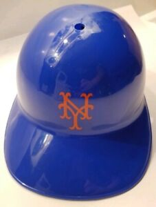 VINTAGE-LAICH-1969-NEW-YORK-METS-NY-SOUVENIR-BLUE-ORANGE-BATTING-HELMET-HARD-HAT
