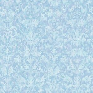 Image Is Loading Light Blue With A Touch Of Lilac Damask